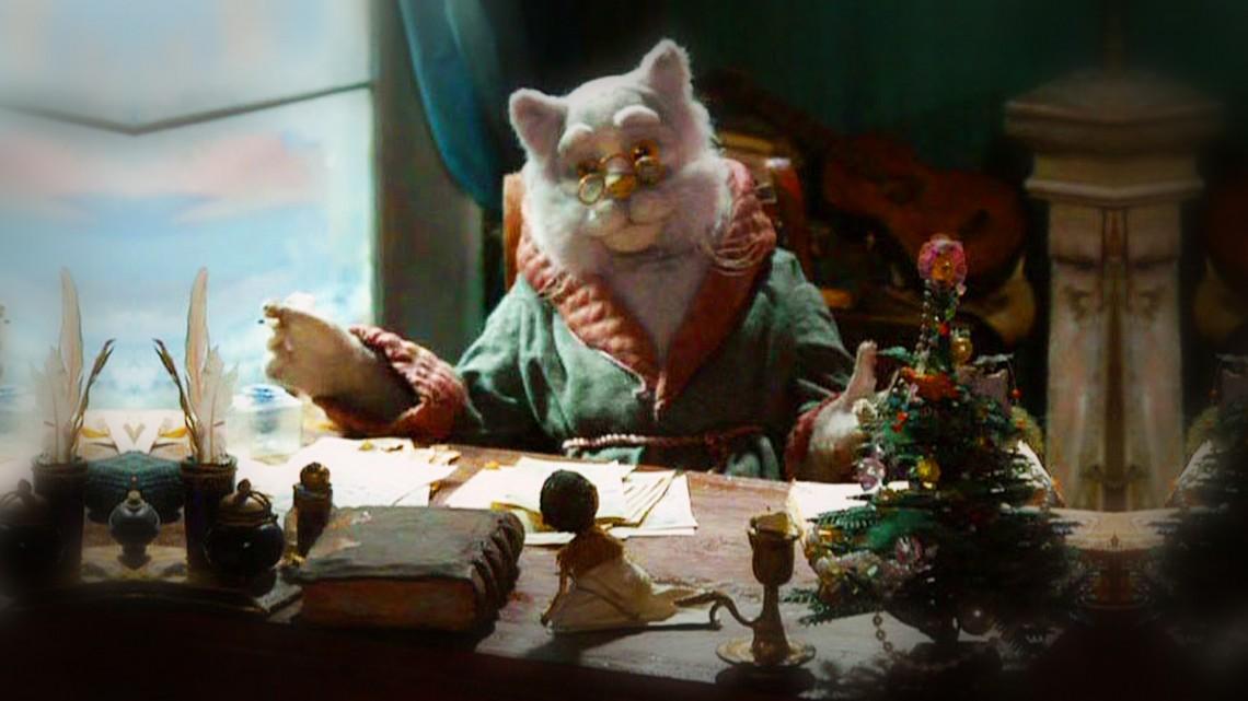 Новогодняя фантазия Кота-Мурлыки